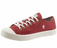 "G-STAR RAW ""Rovulc Canvas"" Sneaker Low Herrenschuhe red rot Gr 43 44"