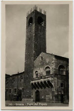 cartolina BRESCIA torre del popolo