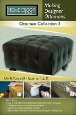 Home Decor 1-2-3 Making Designer Ottomans Collection 3