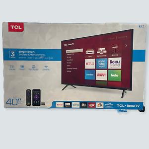 TCL 40 inch, Class 3-Series, LED Full HD 1080P, Roku TV, 40S325