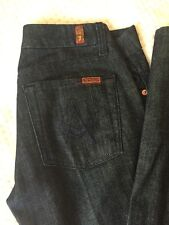 NEW! 7 Seven for All Mankind! Stretch. A-Pocket jeans in Dark  wash 27x34