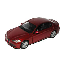 Bburago 21080 Alfa Romeo Giulia Red Scale 1:24 Model Car NEW !°