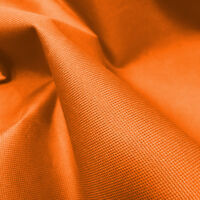 Orange Heavy Duty Waterproof Canvas Fabric 600D Outdoor Cover Sold By Metre