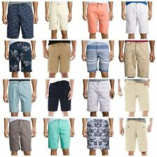 "Men's Arizona Classic Flat Front Shorts 9.5"" - 10.5"" Ins 32 33 34 36 38 40 42 44"