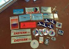 Vintage Eastern Airlines memorabilia lot Of 31 Pieces