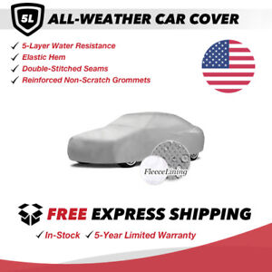 All-Weather Car Cover for 1979 Fiat 124 Convertible 2-Door