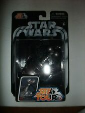 Rare Star Wars Star Tours Disney MSE-1T figure moc carded
