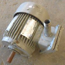 TOSHIBA 3-PHASE INDUCTION MOTOR, B001GYGF2AD, VOLTS 230/460, RPM 1145. HP 1
