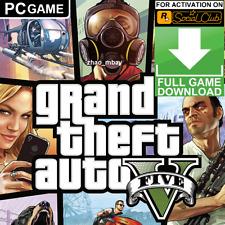 Gta 5 Pc Grand Theft Auto V Online Standard Edition Rockstar Key Fast Delivery!