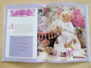 DB&C~ Bear Patterns~April Harlequin~Baby Vincent~Snowdrop~Sunshine~Abigail~1995