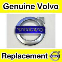 Genuine Volvo XC90, V70, XC70, V60, S80 (11-) Grill Badge (Matt Chrome R-Design)