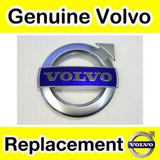 Genuine Volvo XC90, V70, XC70, V60, S80 (11 -) Griglia BADGE (MATT CHROME R-design)