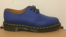 DR. MARTENS 1461 BLUE SOFTY T   LEATHER  SHOES SIZE UK 4
