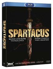 Spartacus Komplette Box inkl. War of the Damned - Blu-Ray - Uncut - NEU & OVP
