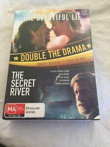 THE BEAUTIFUL LIE + THE SECRET RIVER - AUSTRALIAN AWARD-WINNING TV - 2SERIES NEW