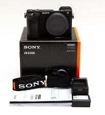 Sony Alpha A6500 24.2MP Mirrorless Digital Camera (Body Only) - LOW Use!