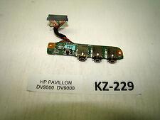 HP pavilion dv9500 dv9649em audio sound Board Module Câble #kz-229