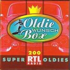 RTL Radio Oldie Wunsch Box (200 tracks, 10CD-Box) Bobby Freeman, Joe.. [xCD-Set]