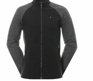 Oscar Jacobson Marshall  Golf Jacket Black from PGA Pro Shop MRRP £135