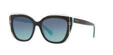 *NEW AUTHENTIC*TIFFANY TF4148 80559S BLACK/BLUE FRAME,AZURE/GRADIENT/BLUE LENSES