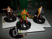 Heroclix DC The Jokers Wild set #031 KOBRA, 030 TWO-FACE, 015 HARVEY BULLOCK