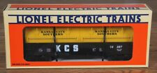 Lionel  Kansas City Southern Gondola with Coil Covers 6-16387