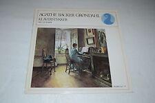 Agathe Backer Grondahl~Klaverstykker~Med Liv Glaser~1975 NKF 30 008~FAST SHIP