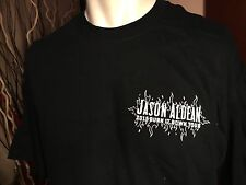 JASON ALDEAN XL 2015 BURN IT DOWN TOUR LOCAL CREW SHIRT NEW BLACK
