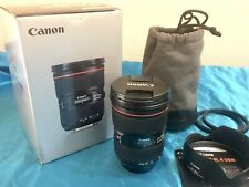 *Optically Mint* Canon EF 24-70mm f/2.8L II USM Zoom Lens - Perfect & Complete
