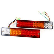 2x 12V 20 LED Truck Rear Tail Brake Reverse Light Trailer Turn Indicator Lamp DY
