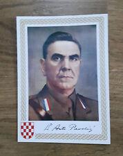 Taschen Bild Dr. Ante Pavelic NDH HRVATSKA Kroatien USTASA Croatia Pavelic HOS