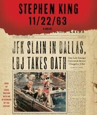 11/22/63 unabridged audio book CD by STEPHEN KING (30 CDs / 31 Hours) Brand New!