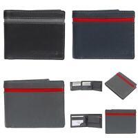 Harolds echt Leder RFID NFC Herren Geldbörse Brieftasche Münzbörse Portemonnaie