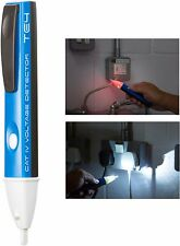 Knightsbridge Audible Non-Contact Electrical Voltage Tester/Detector with Torch