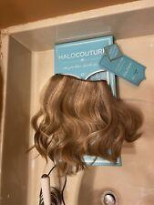"HaloCouture 100% human Hair Extension 812 12"" cut"