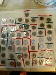 Lot of 50 uncirculated Susan b Anthony dollars still in the original mint wrap