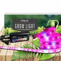 LED Grow Light Bar Strips Light 5 Pieces Full Spectrum for Indoor Hydro Plant