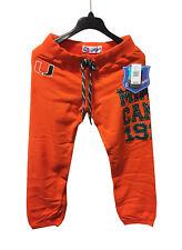 Miami Hurricanes' Miami Canes 1925 Orange Sweatpants Size L - NWT $34.00