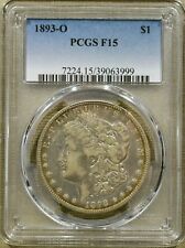 1893-O PCGS F15 Morgan Dollar