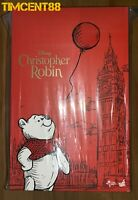 Ready Hot Toys MMS502 Christopher Robin - Winnie The Pooh Figure 24 cm tall New