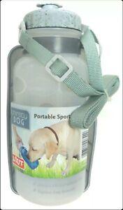 Lixit 00842 20 Oz Thirsty Dog Pet Sport Bottle Portable