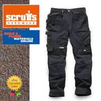 Scruffs PRO FLEX PLUS Slim Fit Trade Work Trousers Black BRAND NEW WINTER 2019