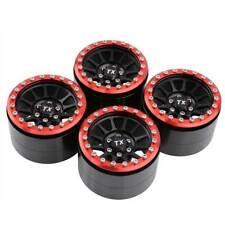 "4x RC OEM Aluminum Hub 2.2"" Universal Rock Crawler Beadlock Wheel (TX223HR)"