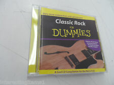Classic Rock For Dummies by Various Artists music CD Tested!