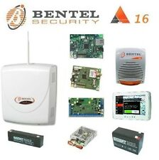 BENTEL KIT ABSOLUTA 16 TASTIERA TOUCH + GSM + IP + SIRENA + BATTERIE!