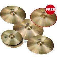 """Paiste Giant Beat Giant Cymbal Set w/ FREE 18"""""""