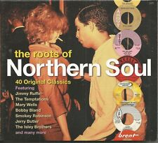 THE ROOTS OF NORTHERN SOUL - 2 CDs - 40 Original Classics - BRAND NEW