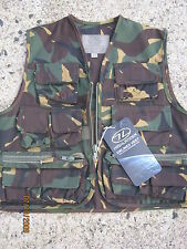 Kids Army Camouflage Vest Size 11 to 12 Years