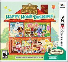 NEW new Animal Crossing Happy Home Designer (Nintendo 3DS, 2015)