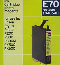 GEHA e70 PHOTO MAGENTA t048640 for Epson Stylus Photo r200/r300/r300m/rx500/600